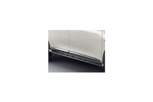 View Chrome Body Side Moldings (4-piece Set) Full-Sized Product Image